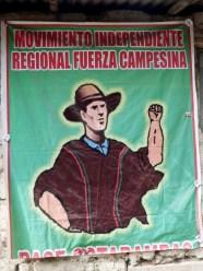 Wahlkampfwerbung - für einmal als Plakat