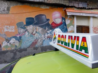 Wand in La Paz