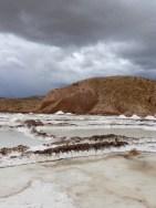 Salzgewinnung, Salar de Taquiamaya
