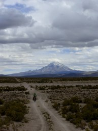 weist uns die Richtung - Vulkan Sajama