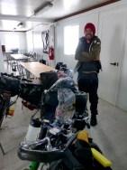 'Schneeflucht' im Niemandsland