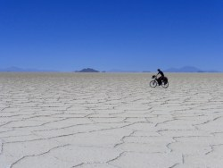 'off road' (Salar de Uyuni)