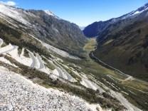 Abfahrt von der Punta Olimpica, 4736 Meter