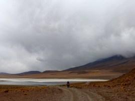 jedes Gewitter zieht vorüber (Laguna Cañapa)