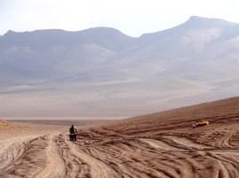 die Wüste ändert sich stetig, bleibt aber sandig