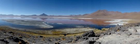Laguna Colorada - macht ihrem Namen alle Ehre