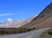 sanfter Aufstieg in die Cordillera