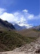 und dem mächtigen Aconcagua