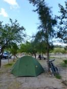 Camping Municipal, Angastaco - hier feierte der Werkhof gerade Weihnachten
