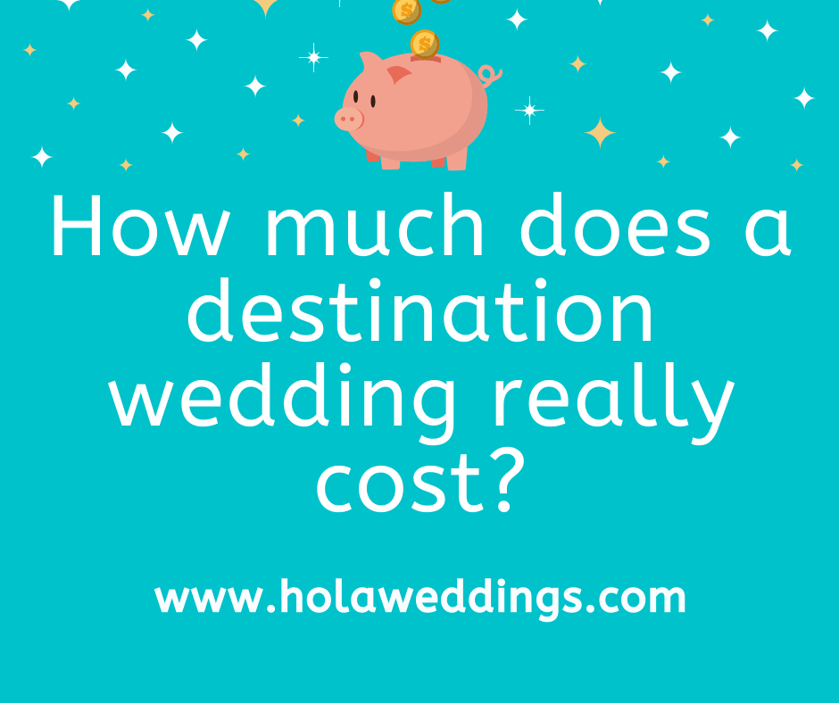 How Much Does A Mexico Destination Wedding Cost Hola Weddings