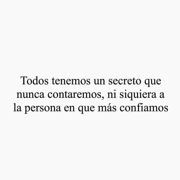 todos tenemos un secreto