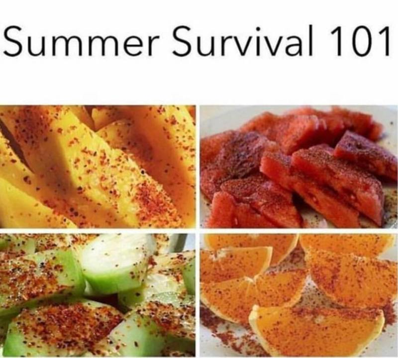 Hispanics... Summer survival 101