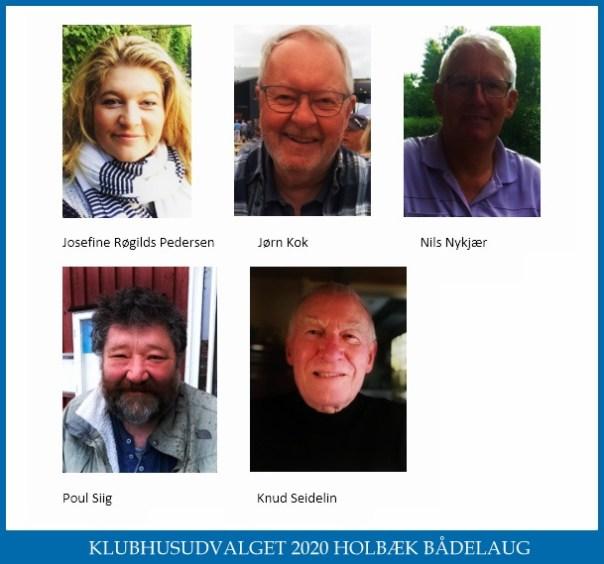 Klubhusudvalget Holbæk bådelaug 2020
