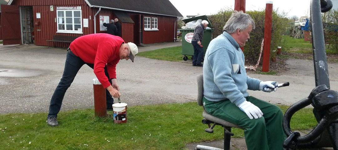Arbejdslørdag - Forår 2016 Holbæk Bådelaug