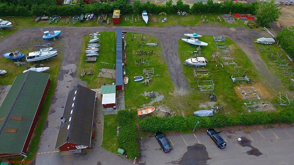 Fælles jolle-trailer i Holbæk Bådelaug