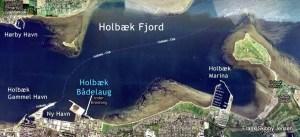 Holbæk Fjord Luftfoto