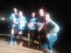 U11-pigerne er glade og stolte over deres sølvmedaljer