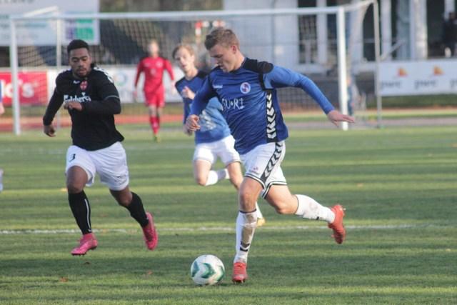 Holbæk tabte til Frem på hjemmebane. Foto: Rolf Larsen.