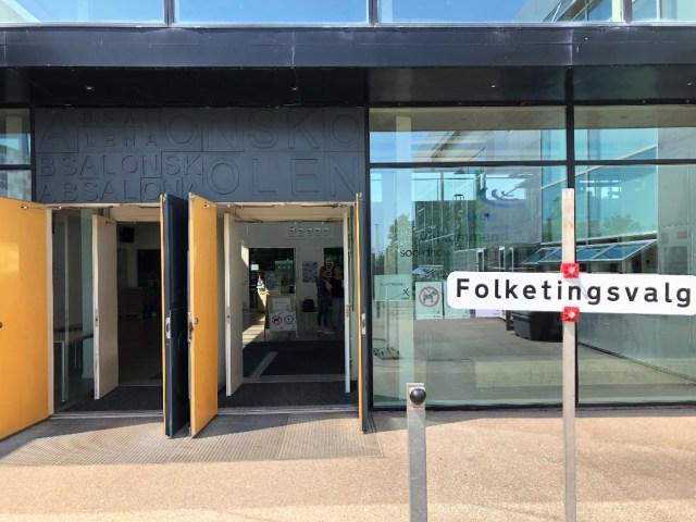 Absalonskolen i Holbæk. Privatfoto.