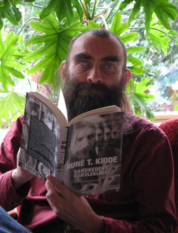 Forfatteren Rune T. Kidde blev 56 år. Foto: The MollyKat.