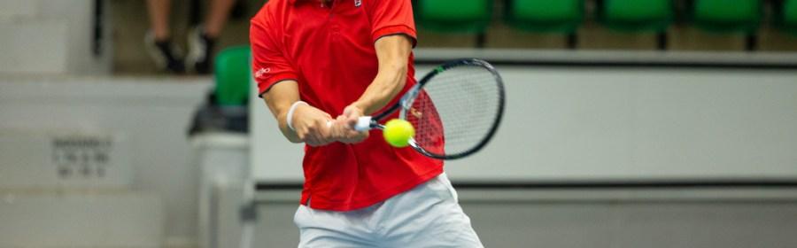 Frederik Løchte Nielsen er kaptajn for Danmarks Davis Cup-hold. Foto: Morten Olsen.