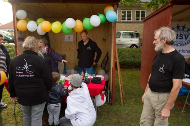 Børns Voksenvenner var tilstede til frivillige fredag Foto: Michael Johannessen.