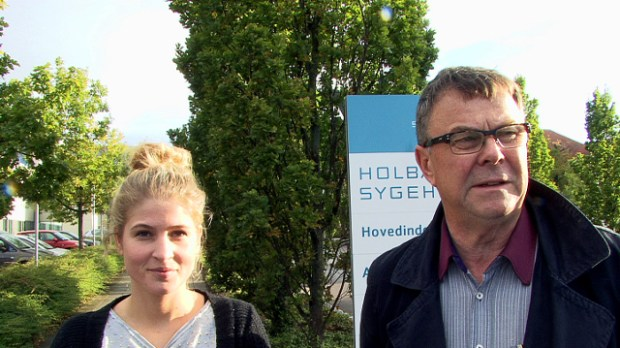 Den ene en erfaren rotte i politik, den anden stiller for første gang op til byrådsvalget d. 19. november. Foto: Jesper von Staffeldt.