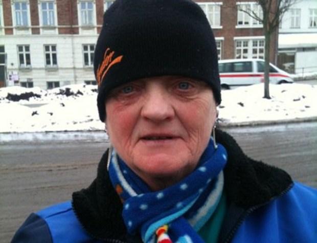 Yvonne Larsen - i folkemunde kaldet 'Flaske  Yvonne' er ikke mere. Foto: Facebook.