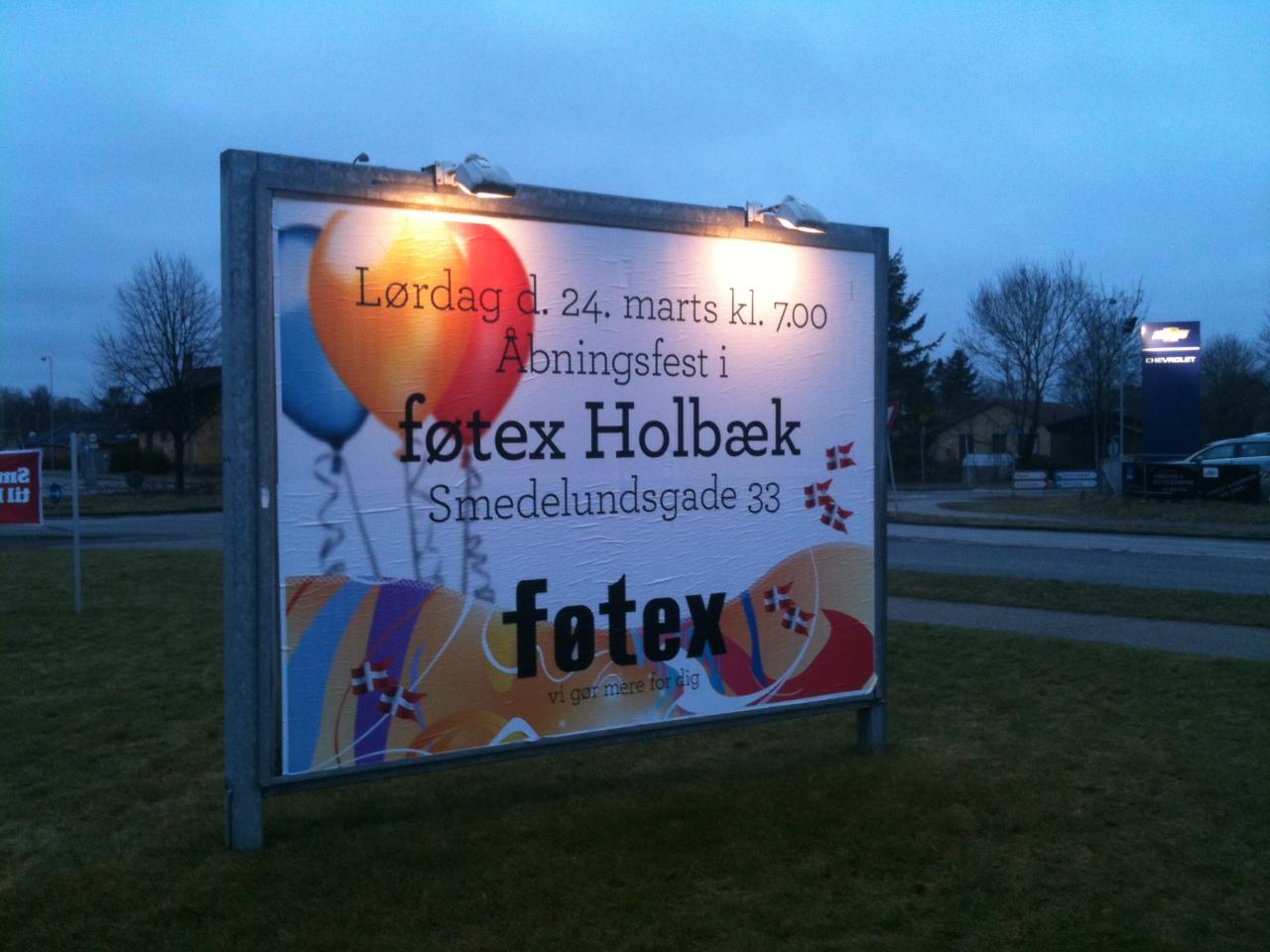 Nu åbner Føtex Holbaekonlinedk