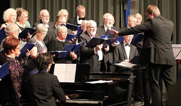 En ny sæson i Holbæk Musikalske Aftener står for døren. Billedet her er fra HMAs festlige Nytårskoncert. Foto: Michael Johannessen.