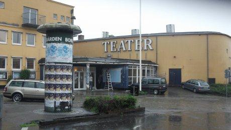 TV-Vestsjælland sender en udsendelse om Holbæk Teater. Foto: Rolf Larsen