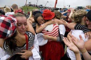 Verdensholdet sagde farvel ved Landsstævnet. Foto: Lonnie Madsen.