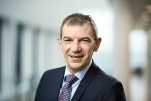 Administrerende direktør i Sparekassen Sjælland-Fyn Lars Petersson er meget tilfreds med resultatet. PRfoto.