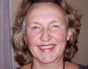 """Merete Ruud Hansen mindedes under koncerten da hun var """"i stald"""" hos Bent Fabricius Bjerre. Foto: Jesper von Staffeldt."""