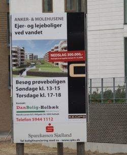 Luksuslejlighederne på havnen er sat ned.  Foto: Freelancefotografen.dk