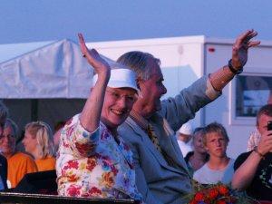 Regentparret overværede åbningsceremonien. Foto: Rolf Larsen.