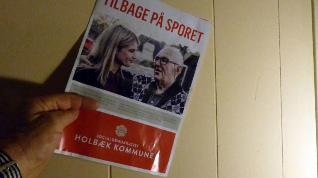 Tilbage på sporet, siger socialdemokraterne i en valgbrochure, men hvilket spor? Ved socialdemokraterne selv det? Foto: Jesper von Staffeldt.