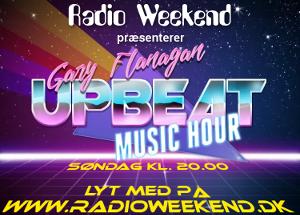 UpBeat Music Hour - søndag kl. 20.00 på www.radioweekend.dk