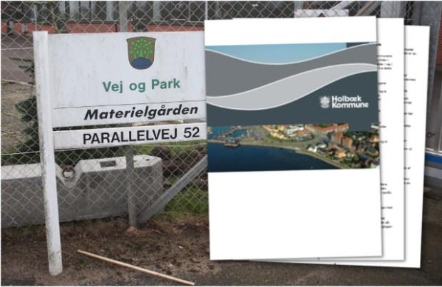 Kommunen har fået udarbejdet en rapport om udlicitering af Vej & Parks område. Foto og collage: Rolf Larsen.