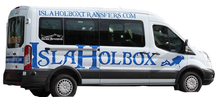 Van to Holbox Island 9
