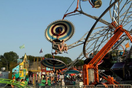 Holbrook Carnival rides