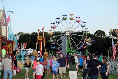Holbrook Carnival Ferris Wheel