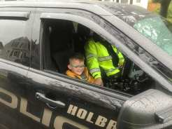 Holbrook Police Ride to School Program