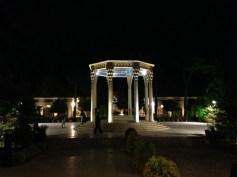 Grab des Hāfez in Shiraz