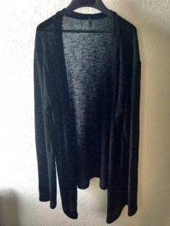 My favorite black cardigan. I wear it EVERYWHERE. It's the perfect length and it's so comfy.