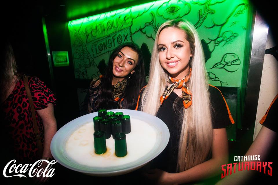 Big Night Out 2018 - Drinks at Cathouse Rock Club