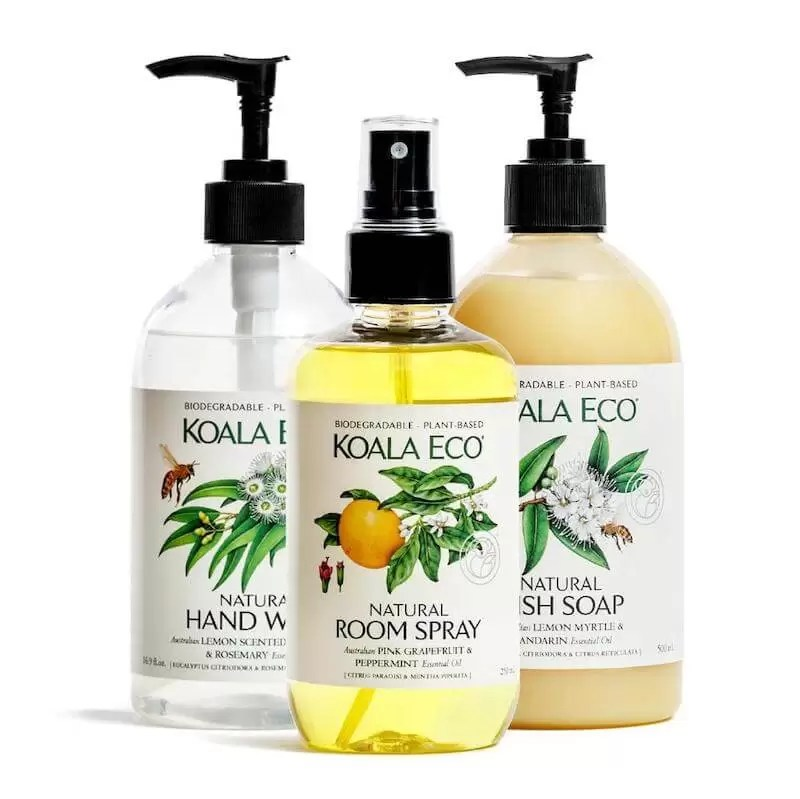 Koala Eco Natural Cleaning and Sanitising Products