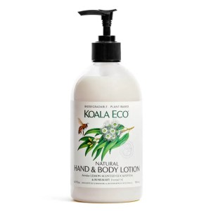 Koala Eco Hand and Body Lotion Lemon scented Eucalyptus and Rosemary from Holdfast Tattoo Supplies