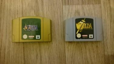 Jeux ZELDA N64