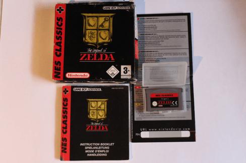 Collection Zelda Nes classic GBA en vente sur Holdies